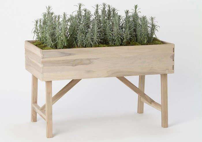 Elevated-Teak-Garden-Planter-Terrain-Gardenista
