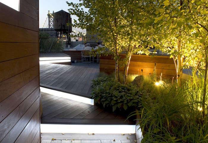 Hardscaping 101 stairway lighting gardenista for Terrain landscape architecture