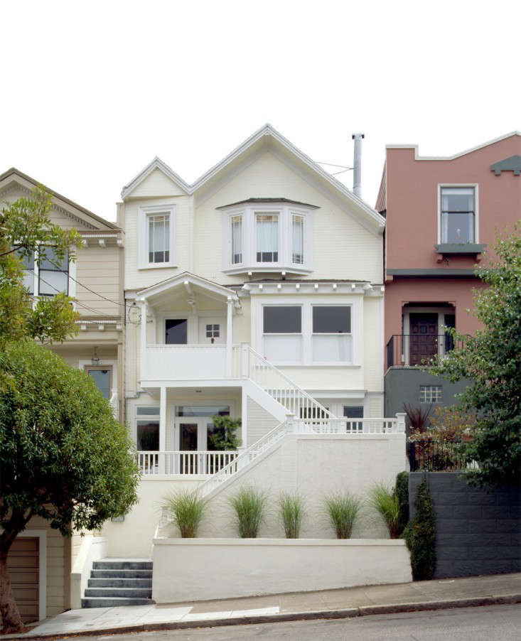 Facade of Eureka Valley House with Remodel by Cary Bernstein, Gardenista