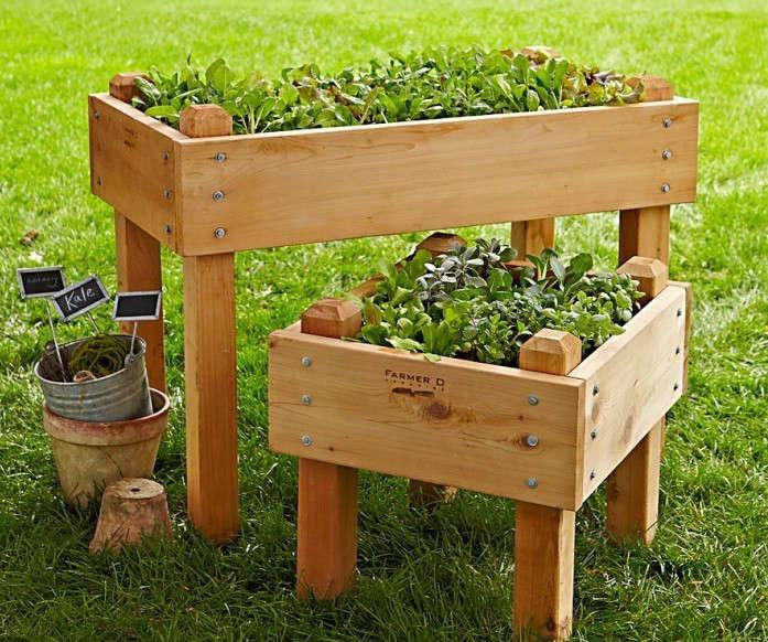 Raised Planters On Legs
