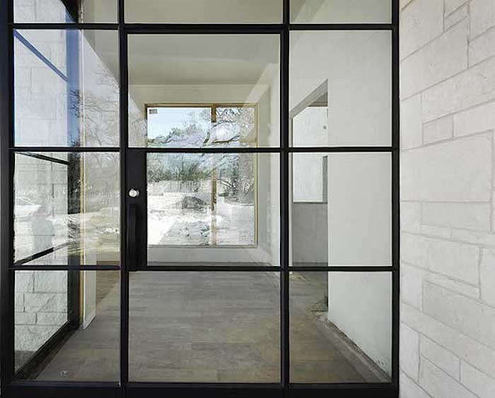 Hardscaping 101 steel factory style windows and doors for Location of doors and windows