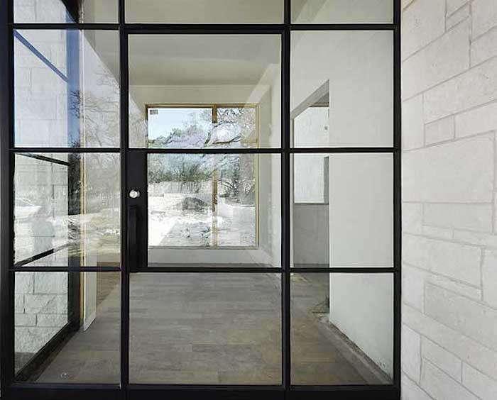 French Door Entry Portella Iron Doors RemodelistaHardscaping 101  Steel Factory Style Windows and Doors   Gardenista. Entry Door Steel Frame. Home Design Ideas