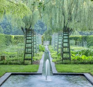 Garden Design Dan Kiley garden Delaware ; Gardenista
