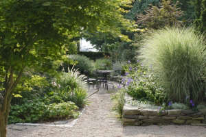 Georgia Marsh Rhode Island garden Christine Chitnis ; Gardenista