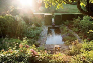 Hollister House Garden via Martha Stewart Living