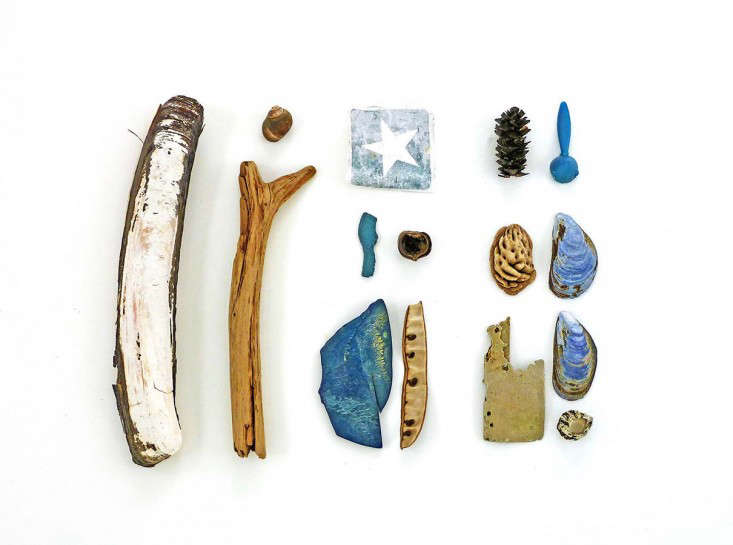 Jennifer Steen Booher, beaching combing series 17, Gardenista