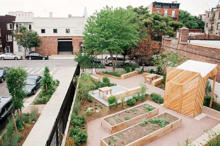 Jo Malone Fragrance Garden in Gowanus Brooklyn on Gardenista