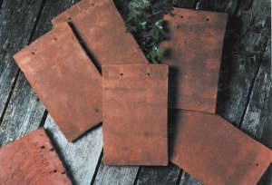 Hardscaping 101 Flat Red Clay Roof Tiles, Gardenista