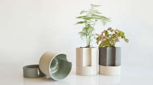 The Chromo Self-Watering Planter Collection by Light and Ladder I Gardenista