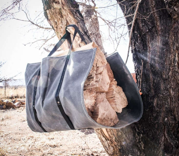Log Carrier by Rugges Material, Gardenista
