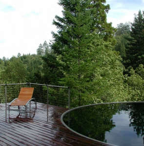 Olle Lundberg cabin pool sonoma ; Gardenista