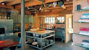 Olle Lundberg cabin kitchen Sonoma ; Gardenista