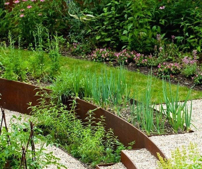Raised Bed Retaining Wall: Landscaping Ideas: 8 Surprising Ways To Use Cor-ten Steel