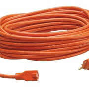 Orange Outdoor Extension Cord, Gardenista