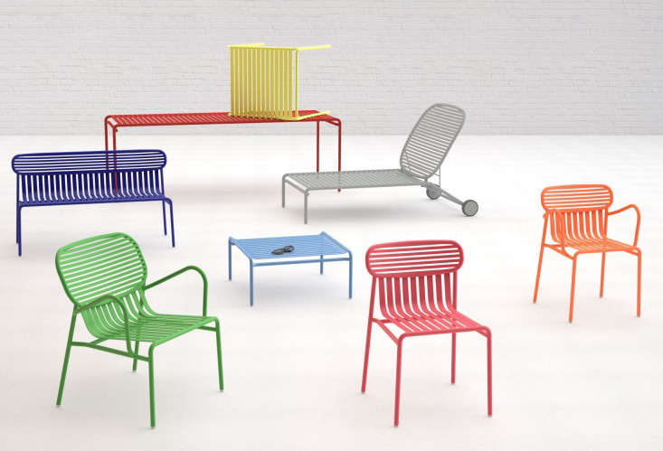 Color Theory Stackable Outdoor, Colorful Outdoor Furniture