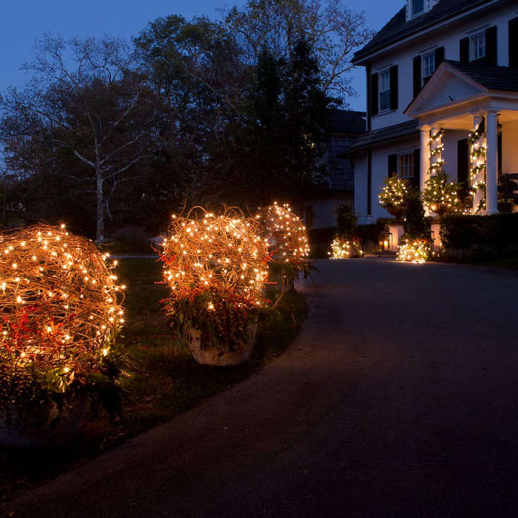 Holiday Glow with Lights from Terrain - Gardenista