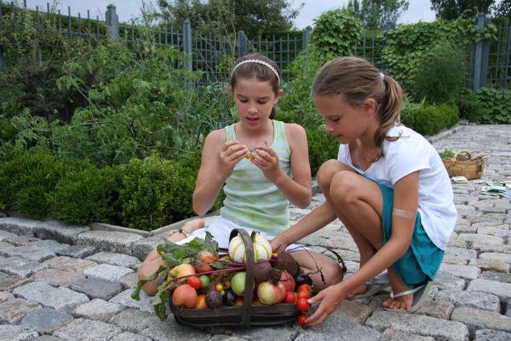 Potager-twins-harvest-AFilippone-gardenista