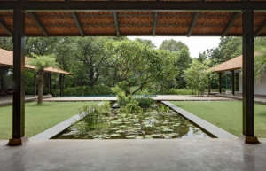 Water pool Indian garden ; Gardenista