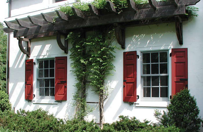 Hardscaping 101 Exterior Wooden Shutters Gardenista