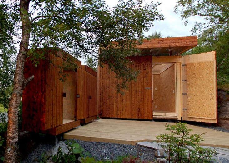 Norwegian wood garden sheds retractable roof and walls for Cobertizos de madera