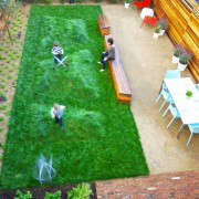 San Francisco Backyard Lawn for Kids and Dining