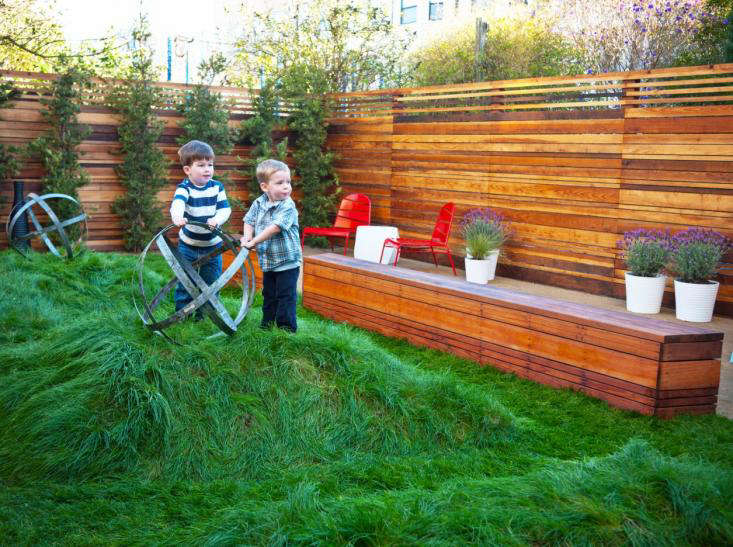 garden design with to lawn or not to lawn with kids that is the