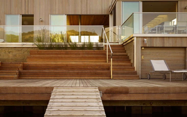 Seadrift House by CCS Architecture Back Deck and Dock, Gardenista