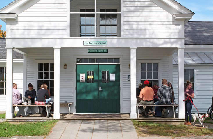 Sterling College Craftsbury Vermont, Dining Hall, by Justine Hand for Gardenista