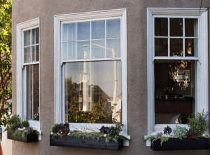 Three Black Painted Holiday Window Boxes, The Home Depot, Gardenista