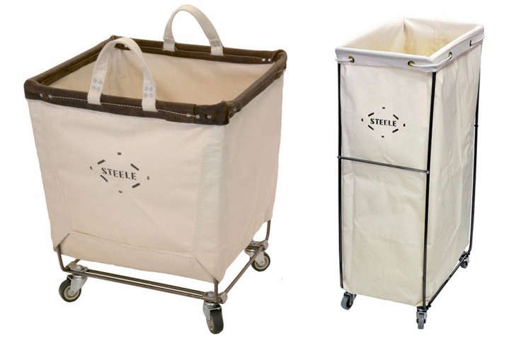 Two laundry baskets by Steele