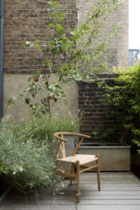 William Smalley London balcony; Gardenista