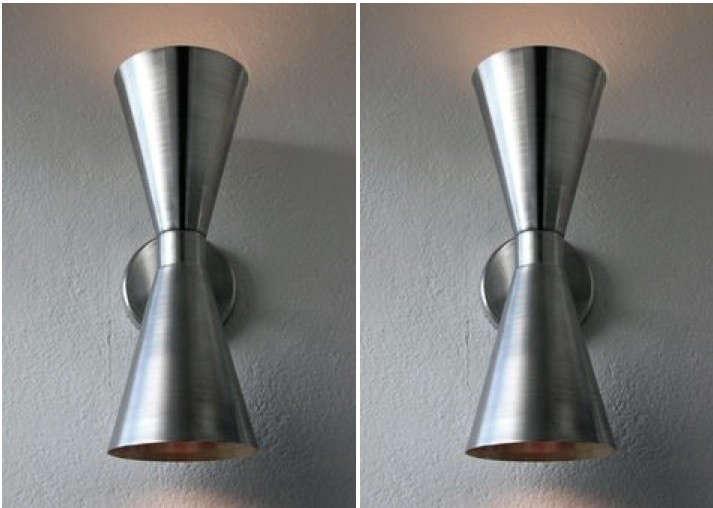 aluminum-cone-sconces-gardenista
