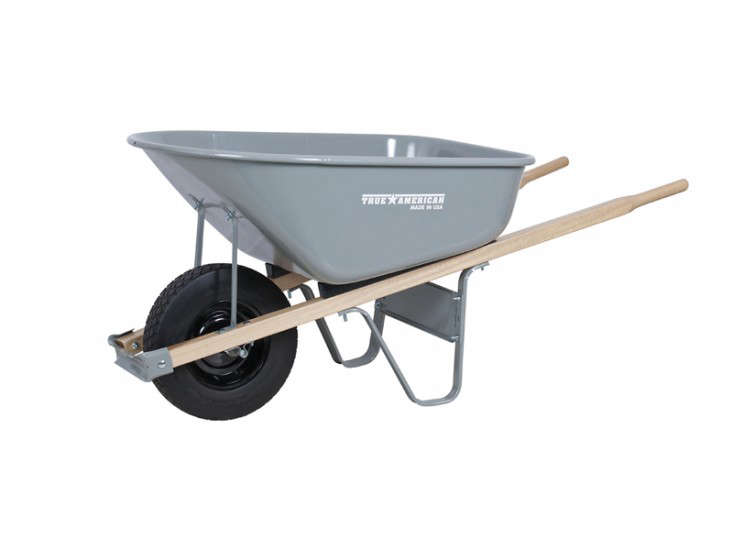 Ames Co 6 Cu Ft Poly Wheelbarrow TP6FFUSA Gardenista