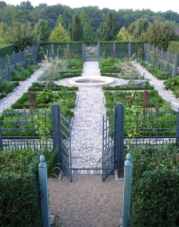 The garden designer is in a deer proof edible garden east coast edition gardenista - Deer proof vegetable garden ideas ...