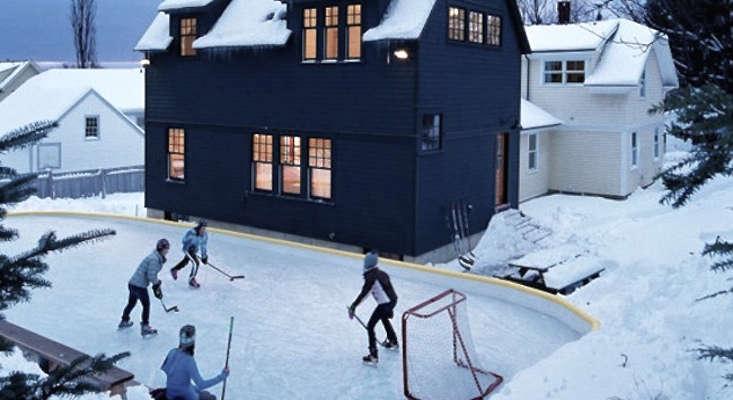 hardscaping 101 backyard ice skating rinks gardenista