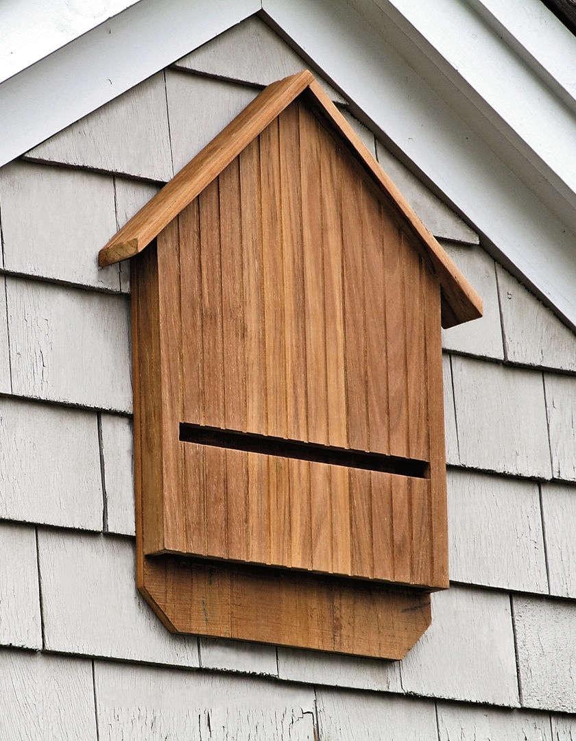 Teak Bat Houses Gardenista