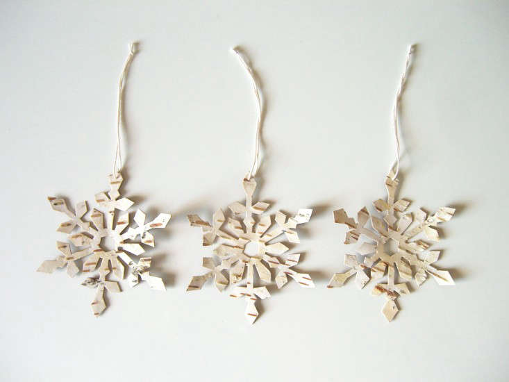 birch snowflakes by Quite Alright