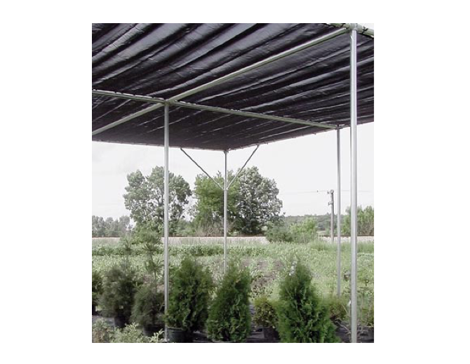 black agricultural fabric for greenhouses l Gardenista