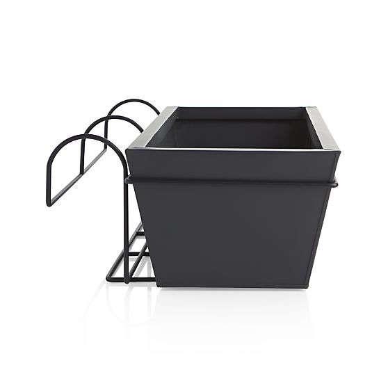 black-zinc-balcony-planter-gardenista