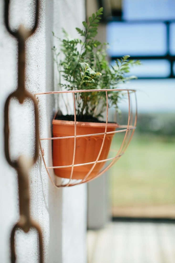 blueberry-cafe-samantha-maber-copper-wall-planter-gardenista