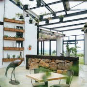 blueberry-cafe-samantha-maber-glass-ceiling-planters-gardenista