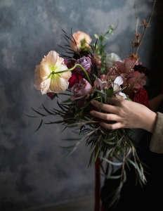 Brittany Asch Brooklyn florist bouquet ; Gardenista