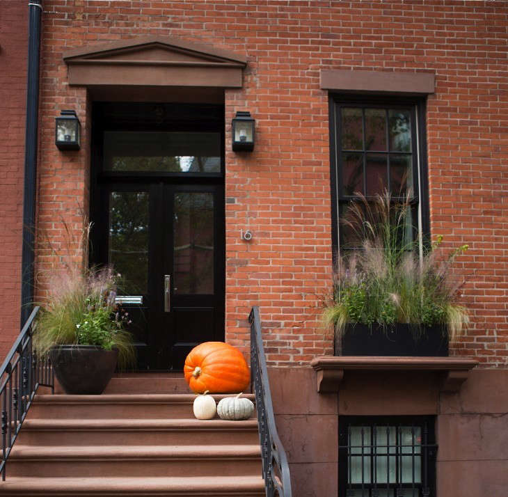 brooklyn-heights-halloween-pumpkin-stoop-gardenista