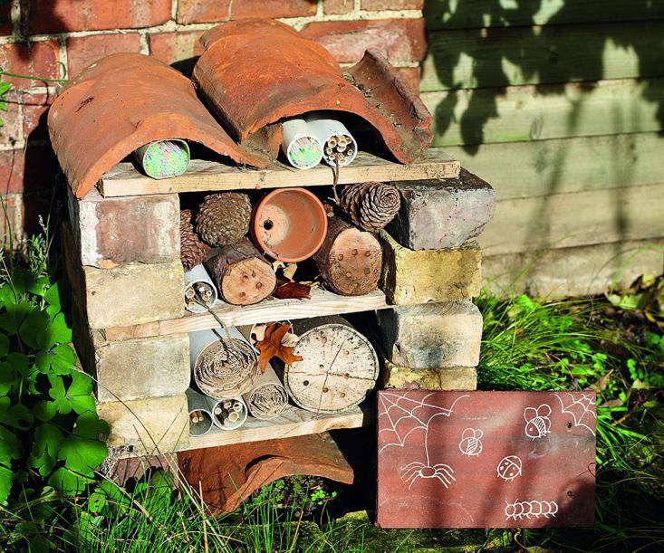 Garden Crafts For Children Build An Insect House Gardenista