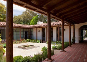 Red Clay Roof Adobe Dutton Architects ; Gardenista