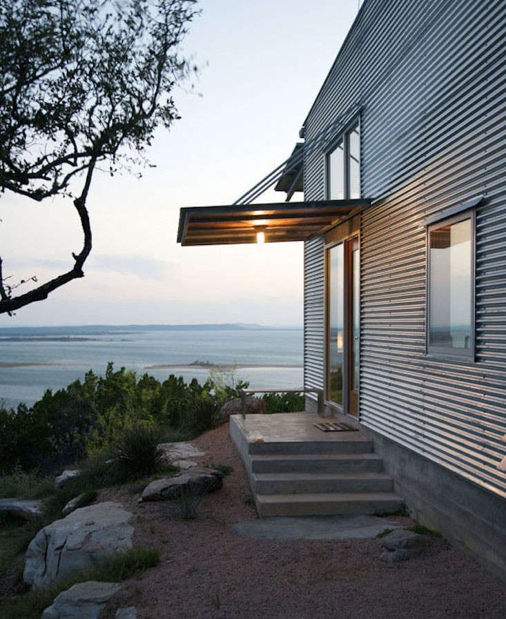 Corrugated Metal Siding : Facade fix ways to add curb appeal with corrugated