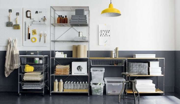 crate and barrel garage storage