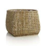 crate-and-barrel-mandao-square-round-basket-gardenista