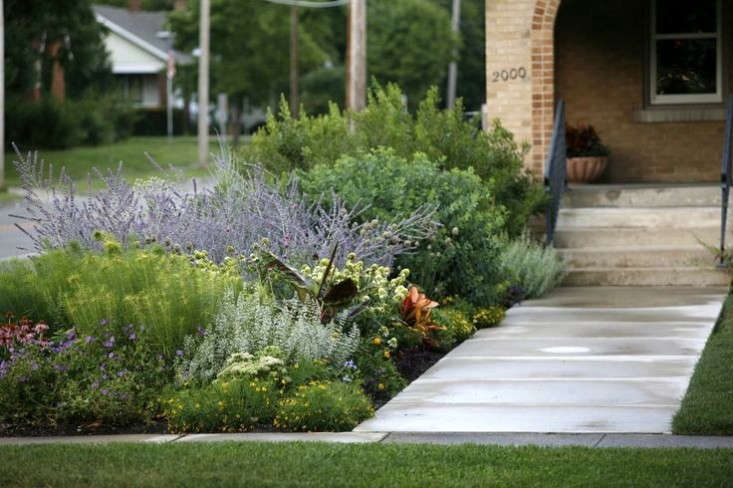 Leaves of grass 9 ways to create curb appeal with for Front yard ornamental grasses