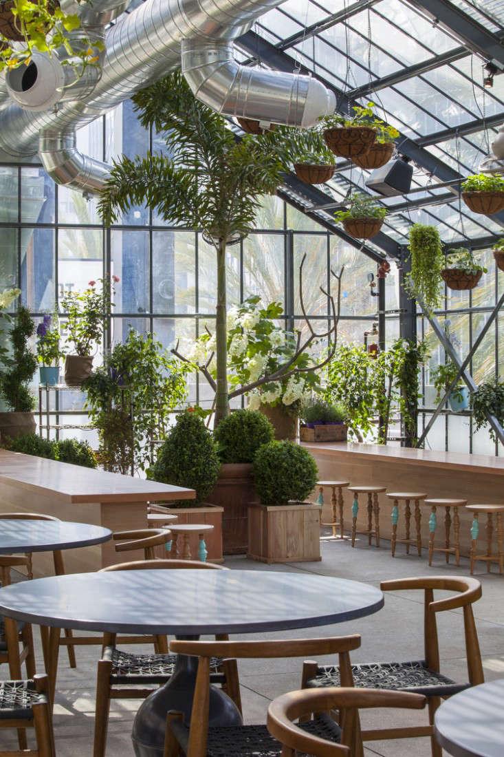 Restaurant visit roy choi 39 s commissary inside a for The green room garden design
